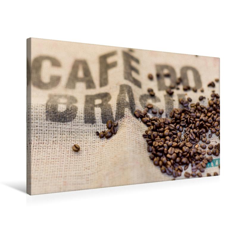 Leinwand Kaffee aus Brasilien