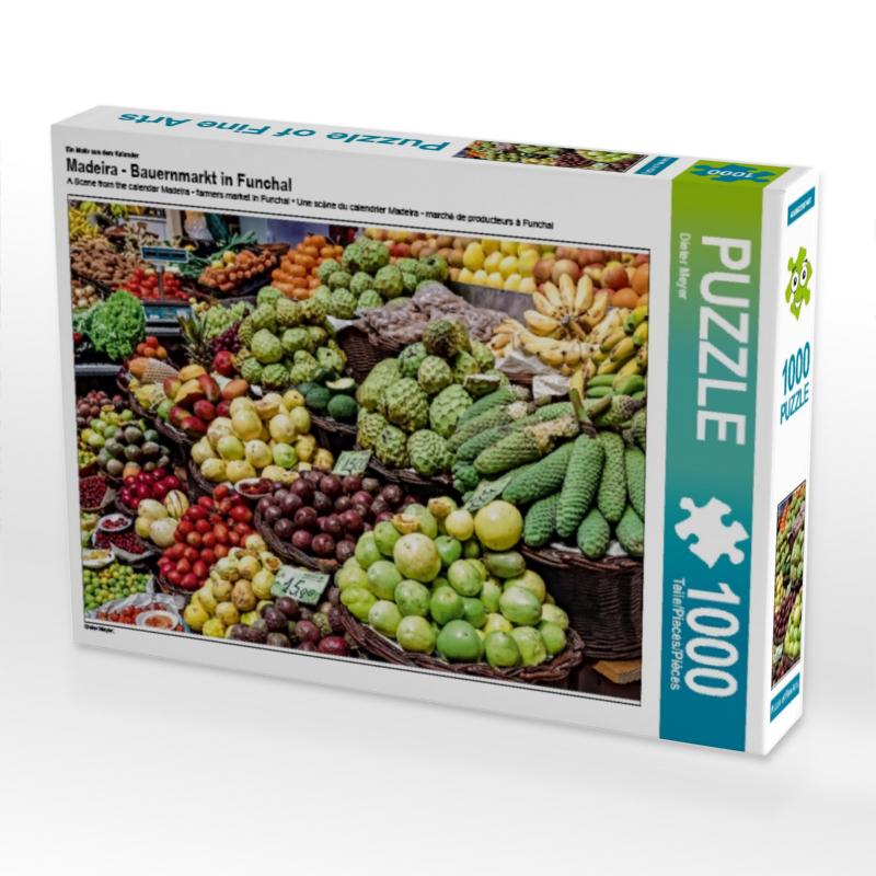Puzzle Madeira Bauernmarkt in Funchal