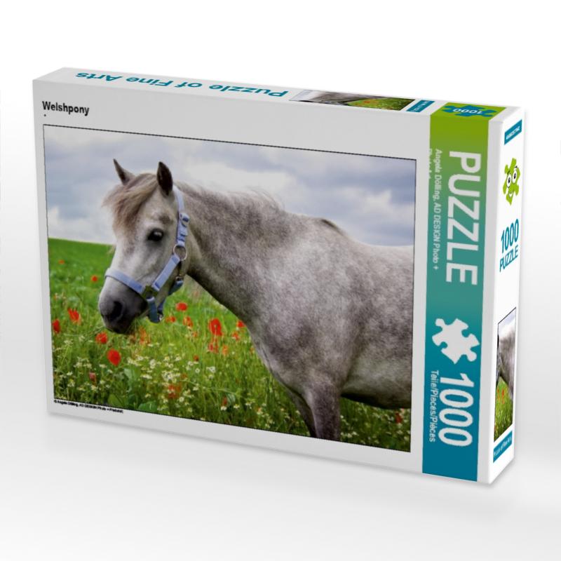 Puzzle Pferd Welshpony