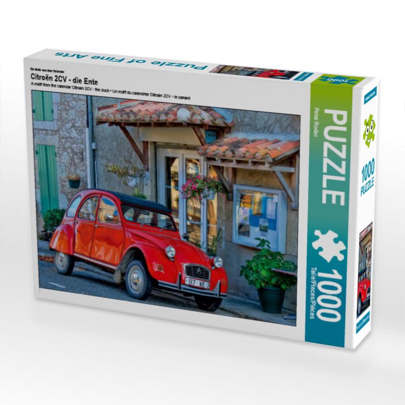 Puzzle Citroën 2CV-die Ente