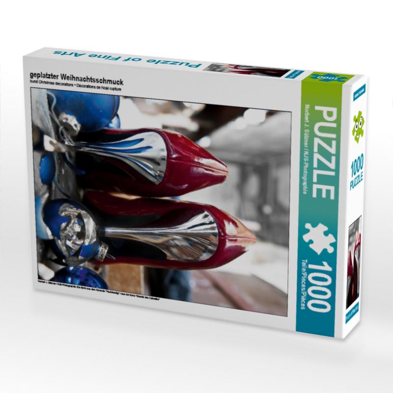 geplatzter Weihnachtsschmuck (Puzzle) - CALVENDO