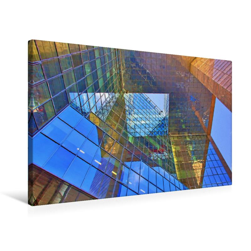 Ein Motiv aus dem Kalender Moderne London (Premium Textil-Leinwand ...
