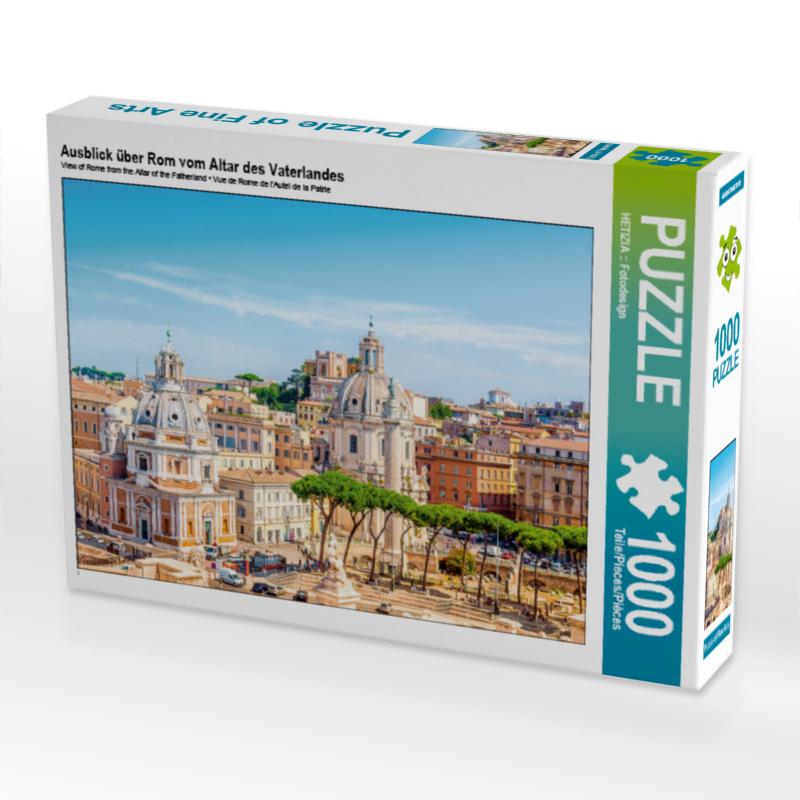 Puzzle Ausblick über Rom